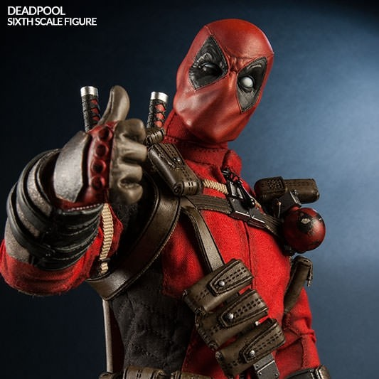 Deadpool - Marvel Comics - Sixth Scale Figur