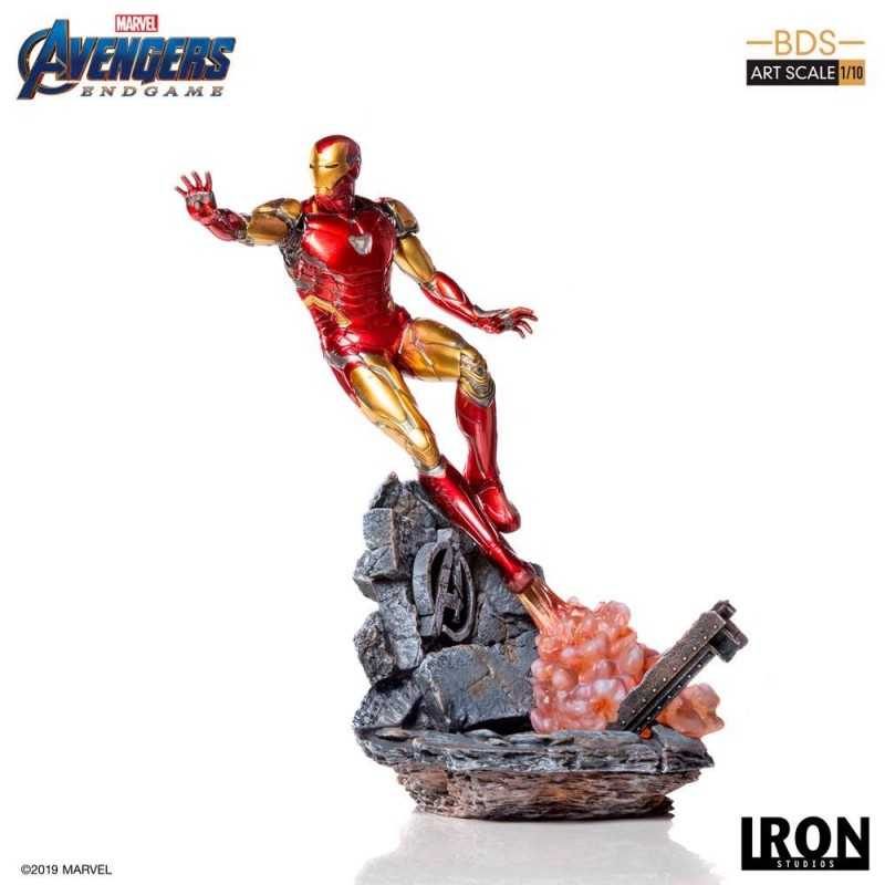 Iron Man Mark LXXXV - Avengers: Endgame - BDS Art 1/10 Scale Statue