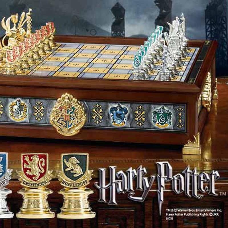 Die Häuser Hogwarts Quidditch - Harry Potter - Schachspiel
