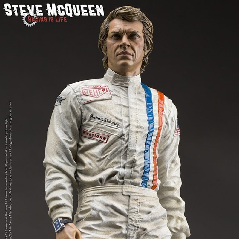 Steve McQueen - Old&Rare - Resin Statue 32cm