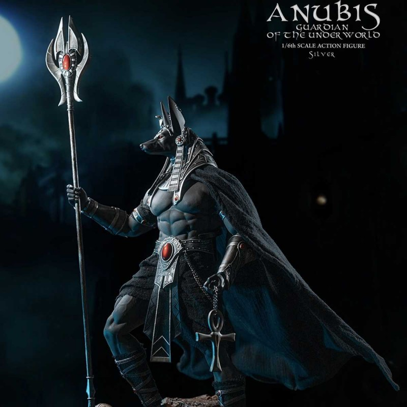 Anubis Guardian of The Underworld ( Silver) - 1/6 Scale Actionfigur