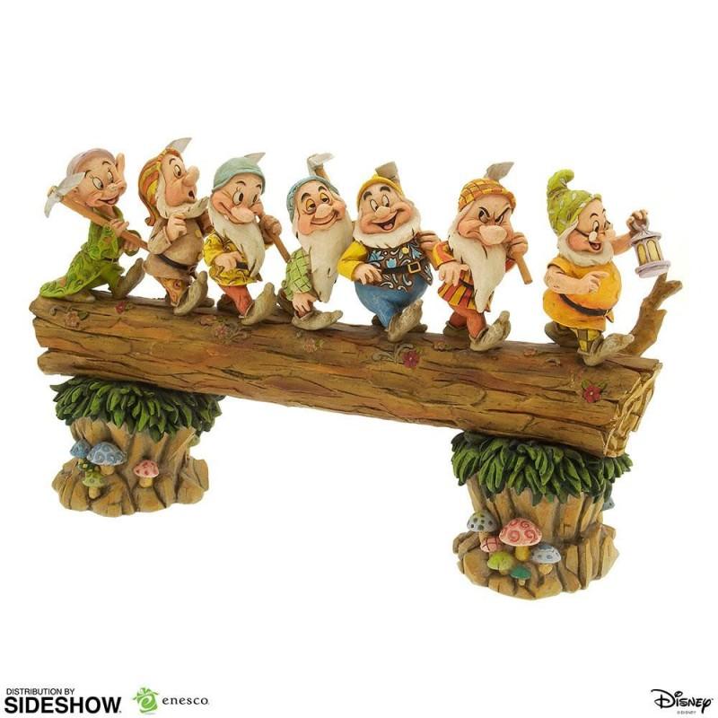 Sieben Zwerge Masterpiece - Schneewittchen - Disney Showcase Collection Statue