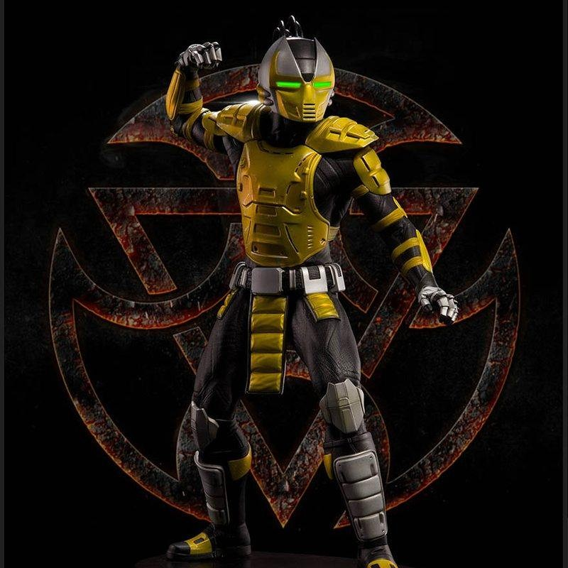 Cyrax - Mortal Kombat - 1/4 Scale Statue