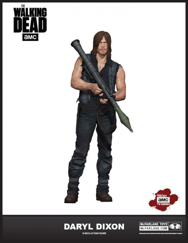 Daryl Dixon (S6) - The Walking Dead - Deluxe Actionfigur