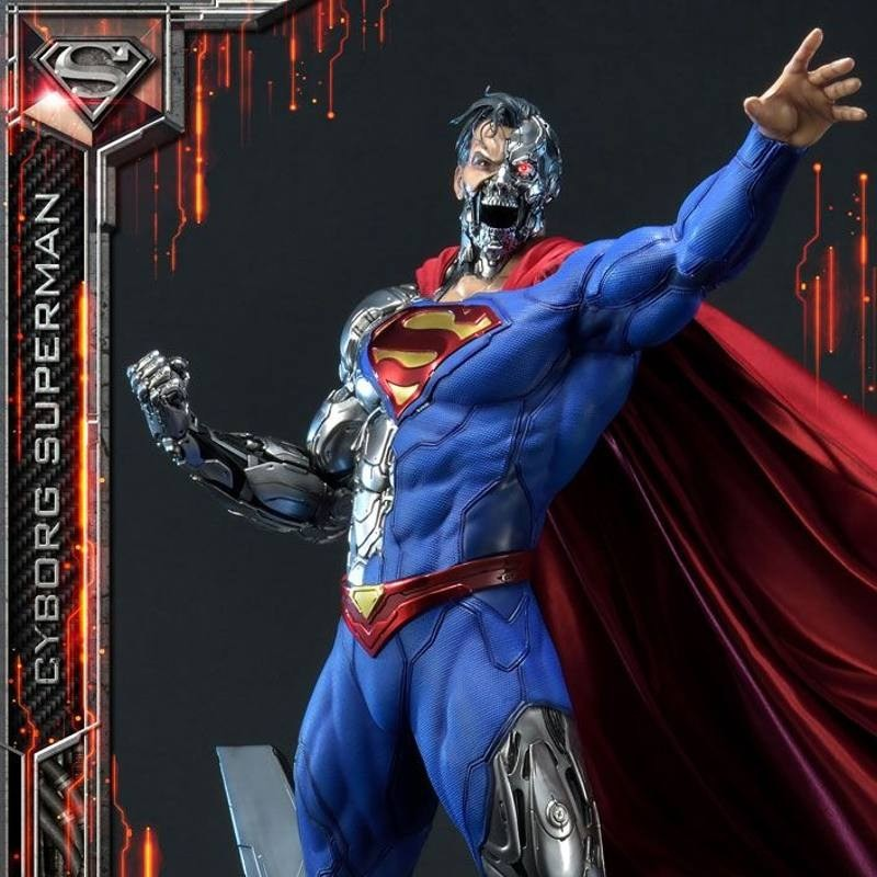 Cyborg Superman - DC Comics - 1/3 Scale Museum Masterline Statue