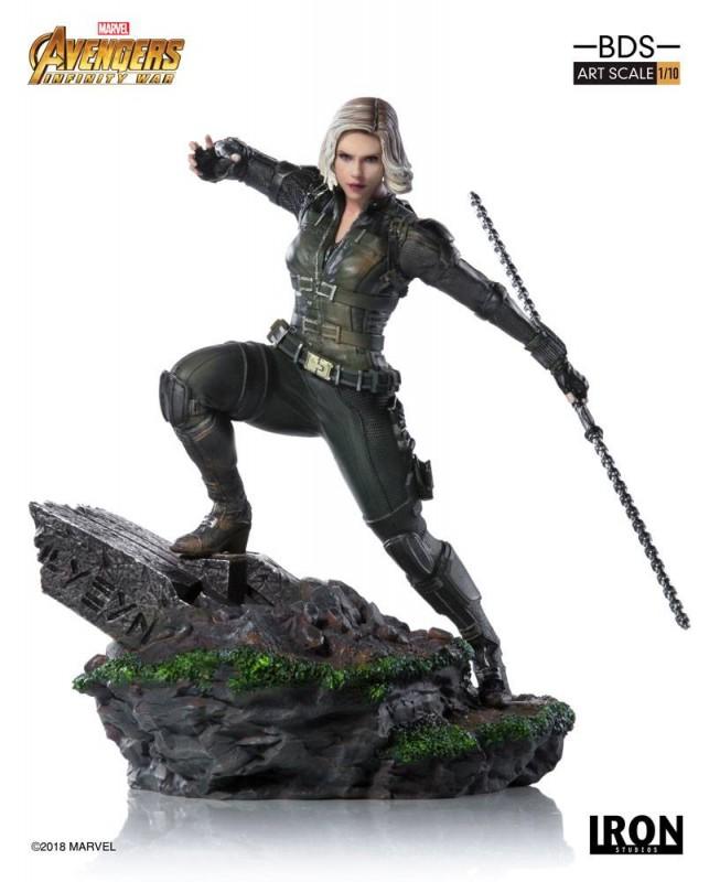 Black Widow - Avengers Infinity War - BDS Art 1/10 Scale Statue