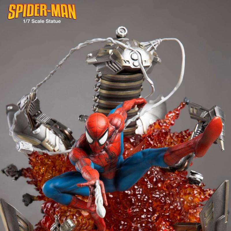 Spider-Man Version A (Light) - Marvel Comics - 1/7 Scale Statue