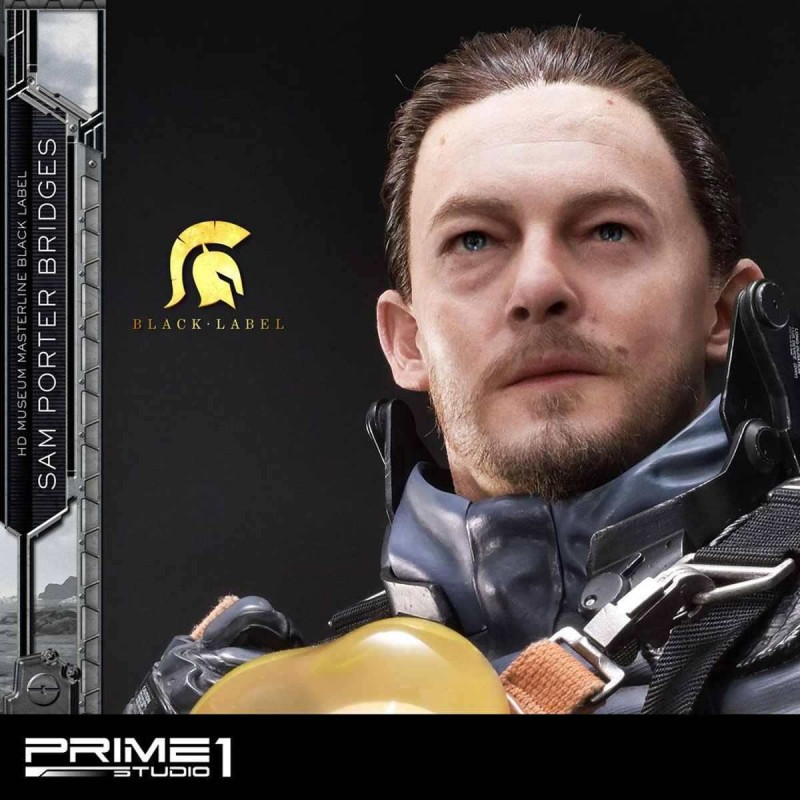 Sam Porter Bridges Black Label - Death Stranding - 1/2 Scale Statue