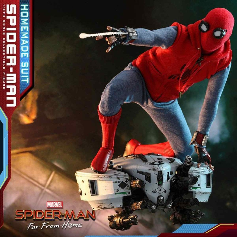 Spider-Man (Homemade Suit) - Spider-Man: Far From Home - 1/6 Scale Figur