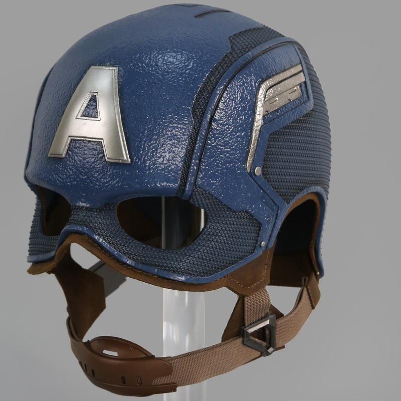Captain America Helm - The Winter Soldier - 1/1 Replik
