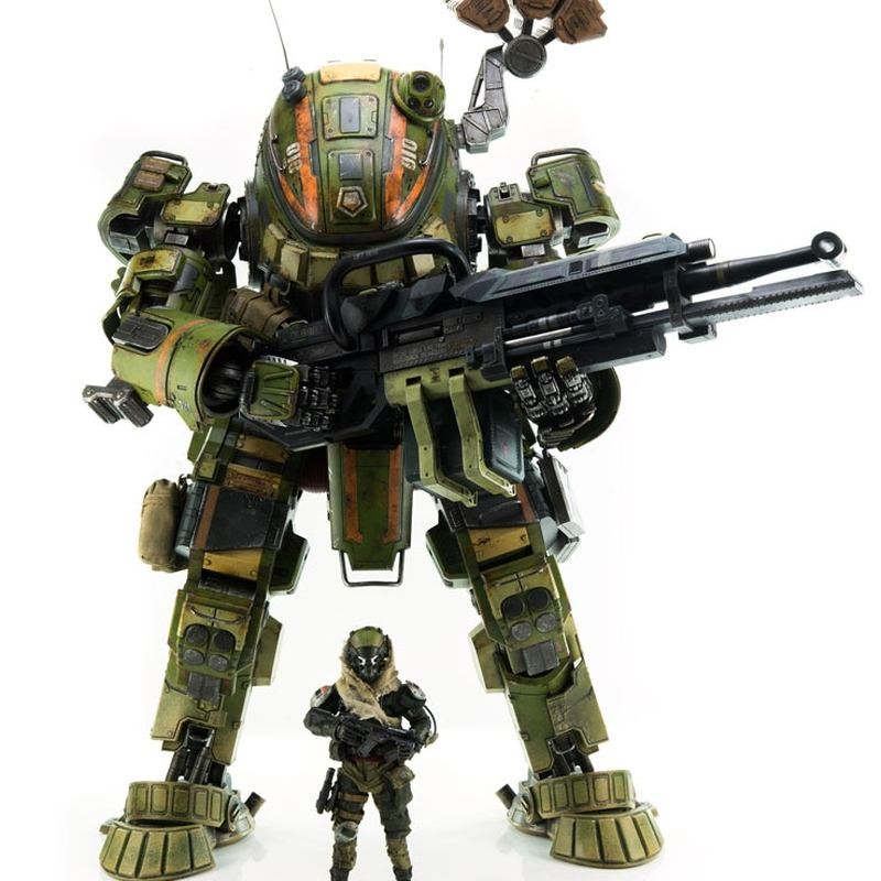 M-COR Ogre - Titanfall - Action Figur 51cm