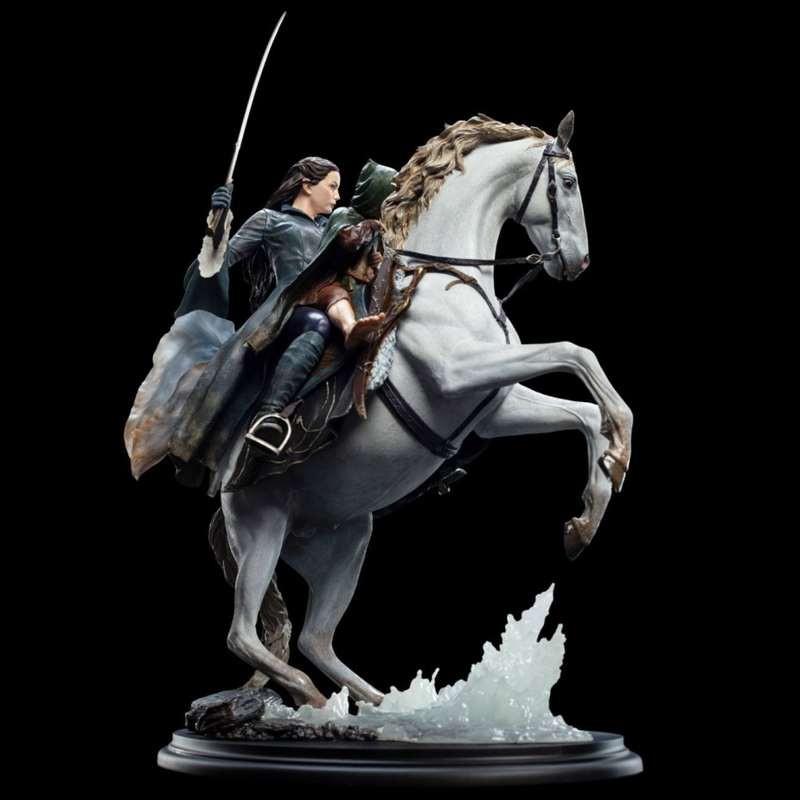 Arwen & Frodo auf Asfaloth - Herr der Ringe - 1/6 Scale Statue