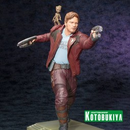 Star Lord with Groot - Guardians of the Galaxy - ARTFX Statue