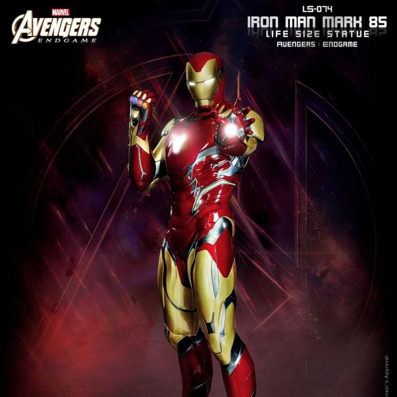 Iron Man Mark 85 - Avengers Endgame - Life-Size Statue