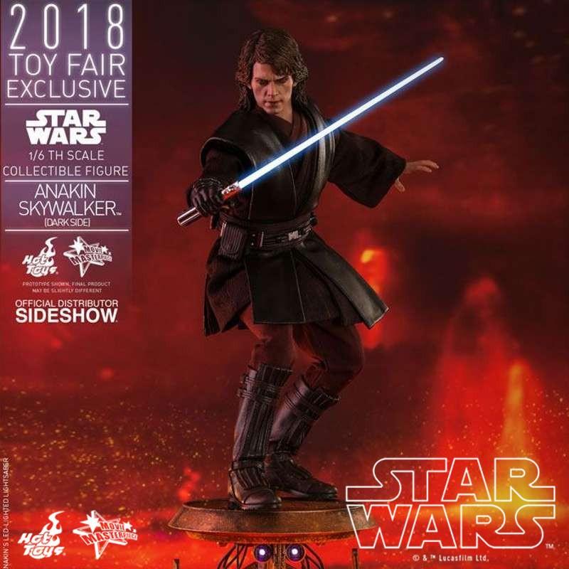 Anakin Skywalker Dark Side 2018 Toy Fair Exclusive - Star Wars Episode III - 1/6 Scale Figur