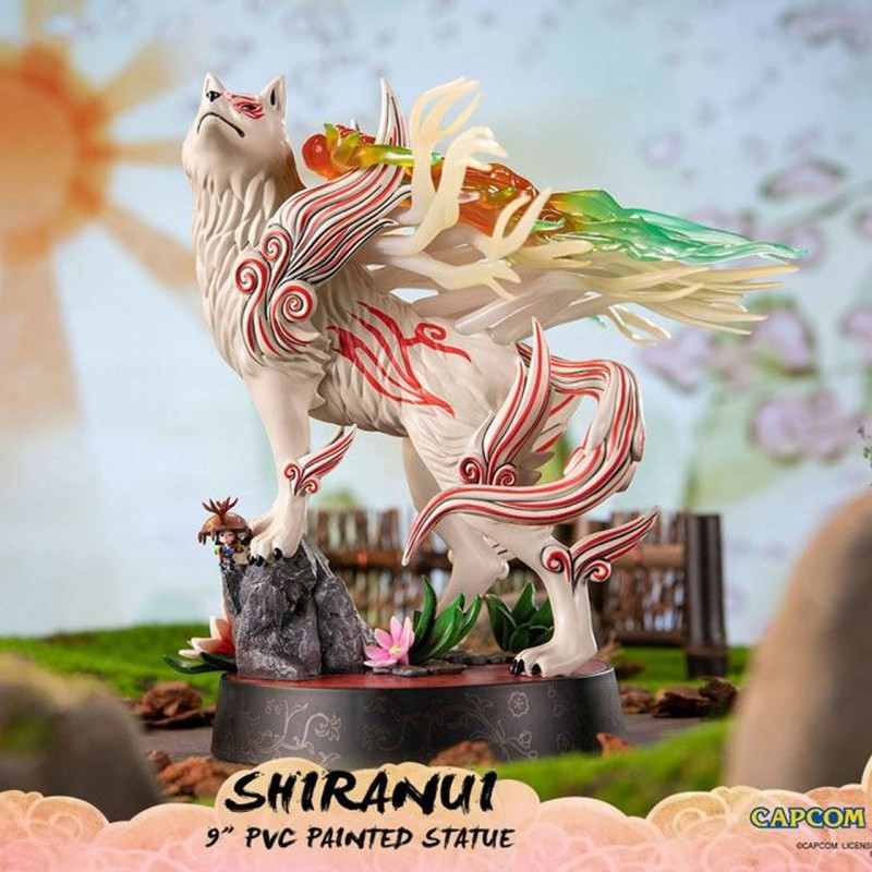 Shiranui (Standard Pose)- Okami - PVC Statue
