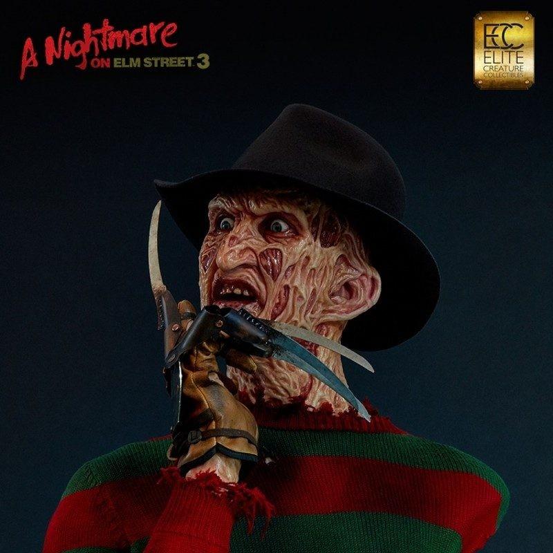 Freddy - A Nightmare on Elm Street 3 - Life Size Büste