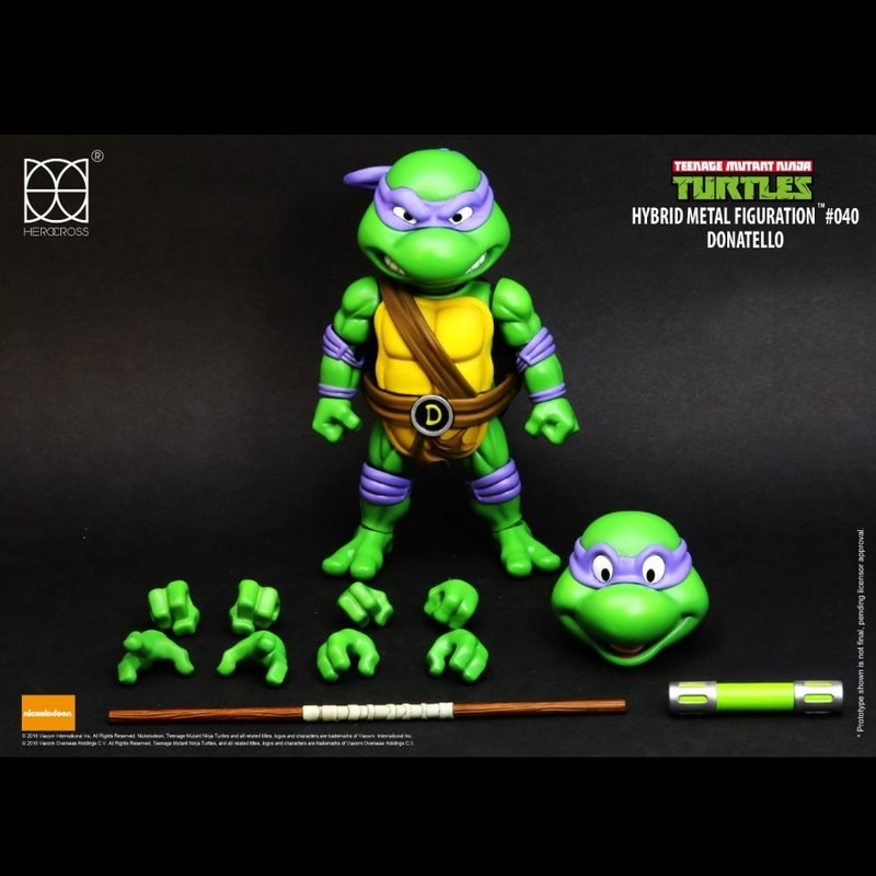 Donatello - TMNT - Hybrid Metal Figuration