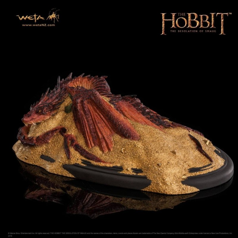 Smaug King Under The Mountain - Der Hobbit - Statue