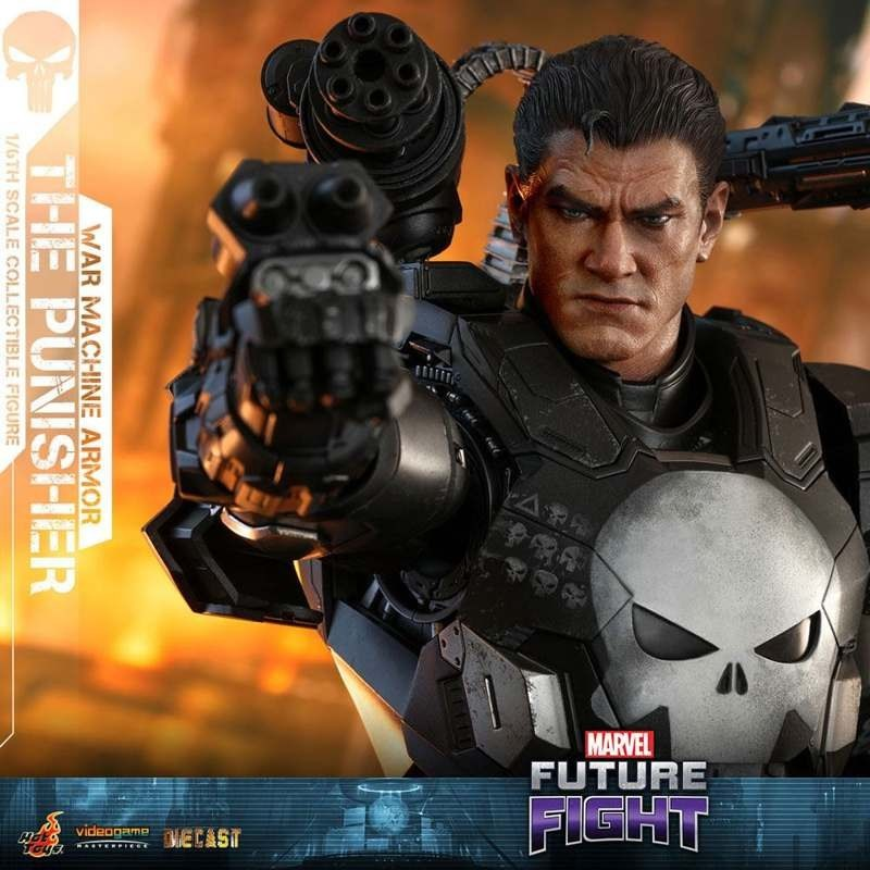 The Punisher War Machine Armor - Marvel Future Fight - 1/6 Scale Figur