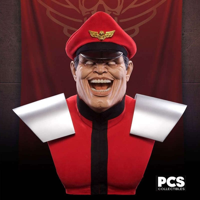 M. Bison - Street Fighter - 1/1 Scale Bust
