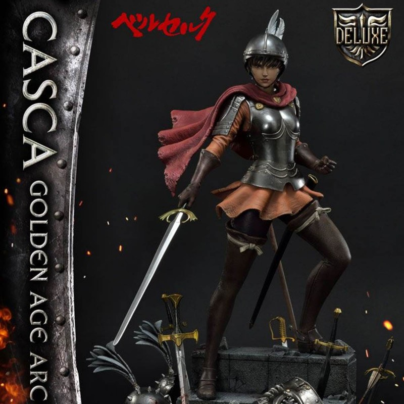 Casca Golden Age Arc Edition (Deluxe Version) - Berserk - 1/4 Scale Polystone Statue