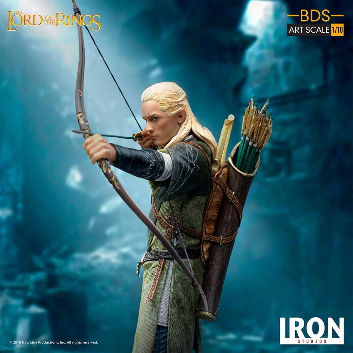 Legolas Herr Der Ringe Bds Art Scale 1 10 Statue Piece Hunter Swiss Collectible Shop