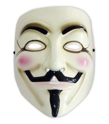 Guy Fawkes Maske - V wie Vendetta - Life-Size Replik