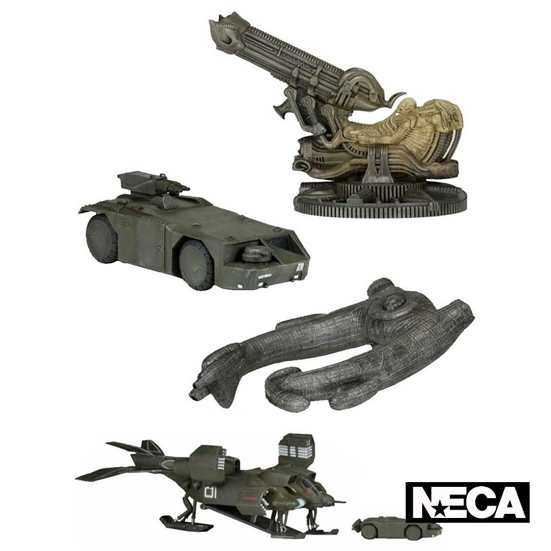 Alien Diecast Fahrzeuge - Cinemachines Serie 1