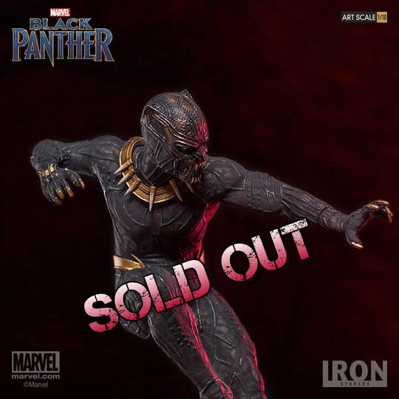 Erik Killmonger - Black Panther - Art 1/10 Scale Statue