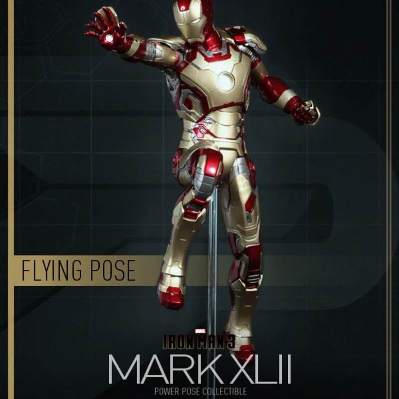 Mark XLII - Iron Man 3 - 1/6 Scale Power Pose