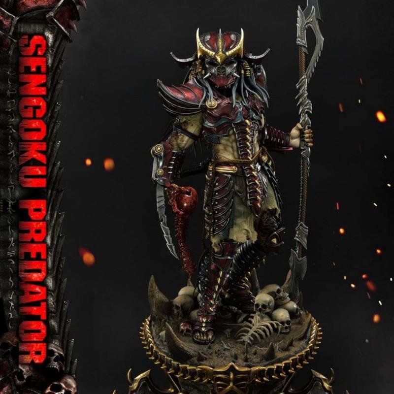 Sengoku Predator - Predator - 1/4 Scale Polystone Statue
