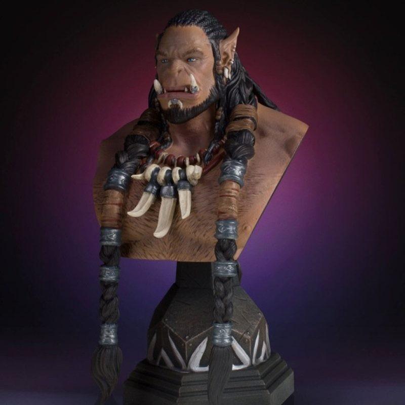 Durotan Classic - Warcraft The Beginning - SDCC 2016 Büste 1/6