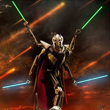 General Grievous - Star Wars - 1/6 Scale Figur