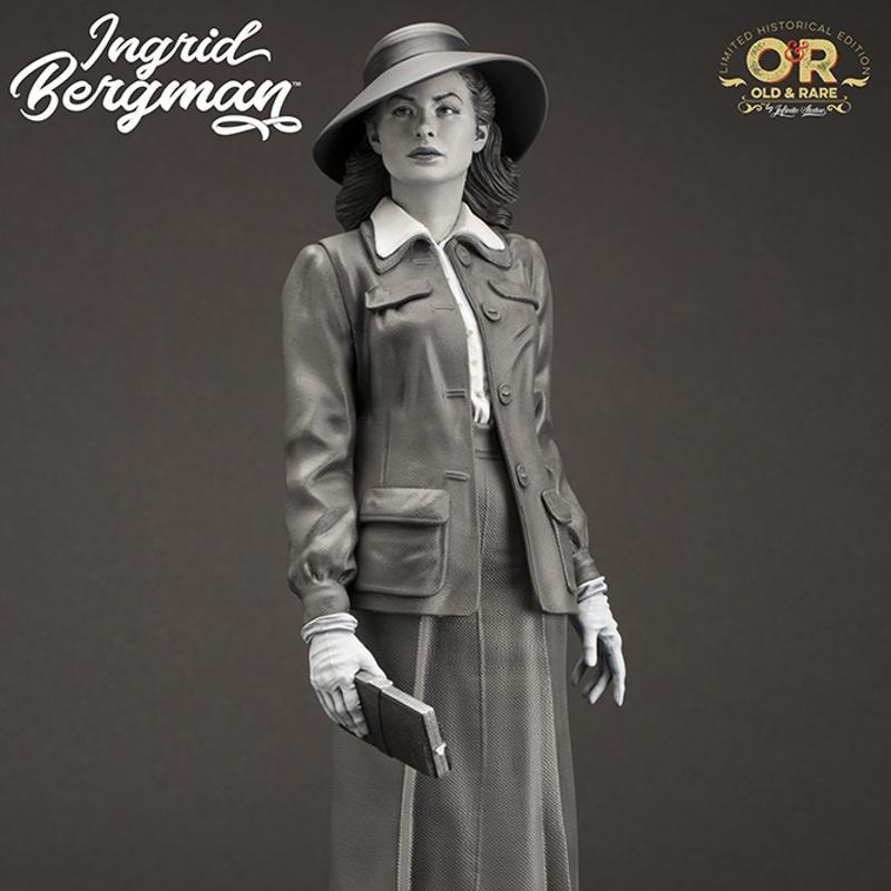 Ingrid Bergman - Old&Rare - 1/6 Scale Resin Statue 30cm