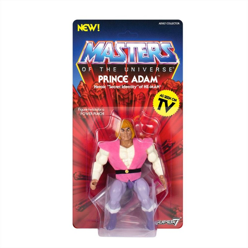 Prince Adam - Masters of the Universe - Vintage Collection Actionfigur 14cm