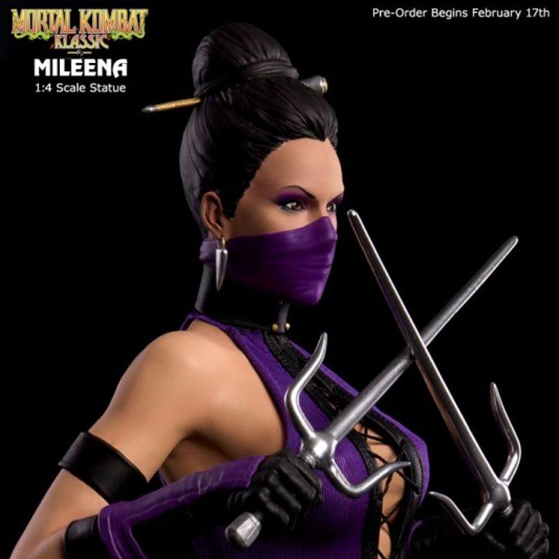 Mileena - Mortal Kombat - 1/4 Scale Statue