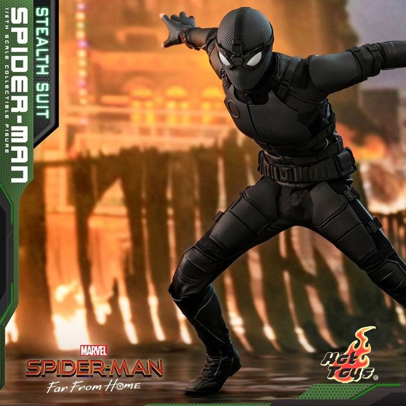 Spider-Man (Stealth Suit) - Spider-Man: Far From Home - 1/6 Scale Figur