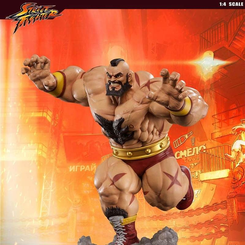Zangief - Street Fighter - 1/4 Scale Statue