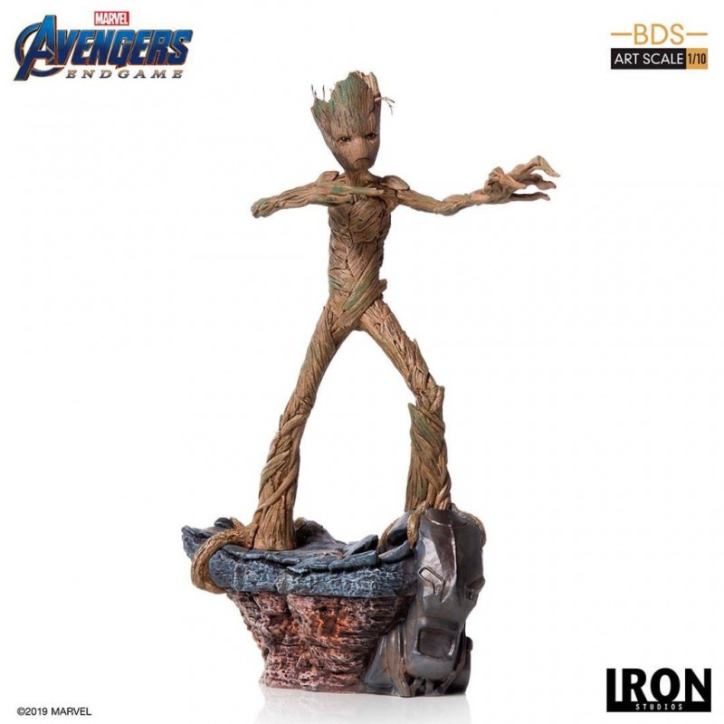 Groot - Avengers: Endgame - BDS Art 1/10 Scale Statue