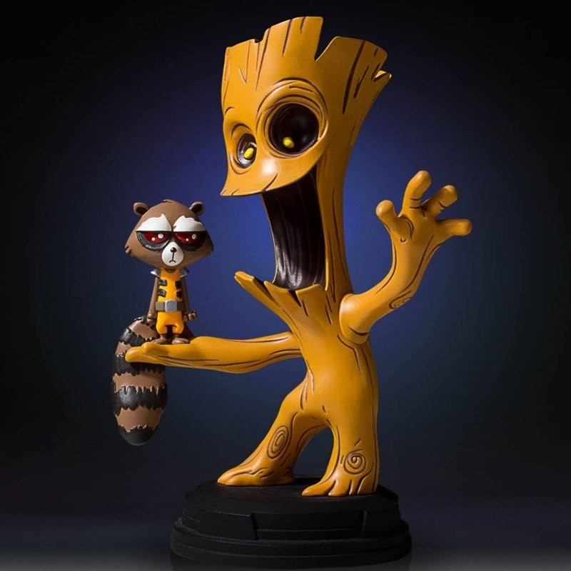 Groot & Rocket - Marvel Comics - Mini-Statue 16cm