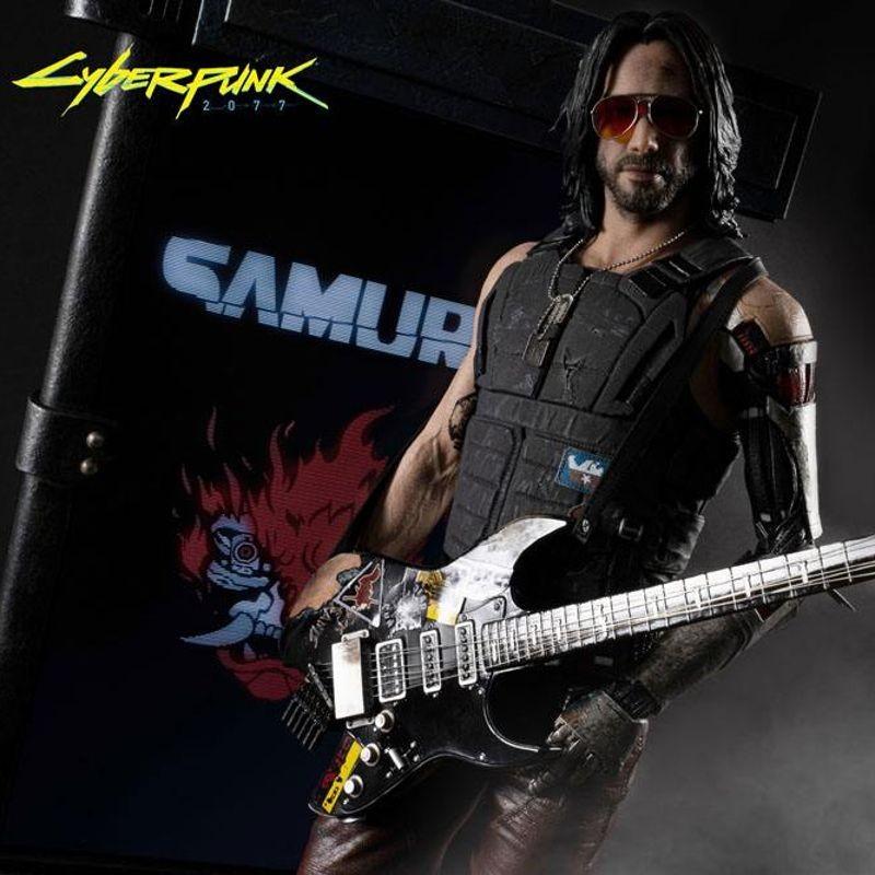 Johnny Silverhand (Exclusive) - Cyberpunk 2077 - 1/4 Scale Premium Statue