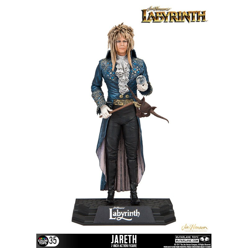 Jareth - Die Reise ins Labyrinth - Color Tops Actionfigur
