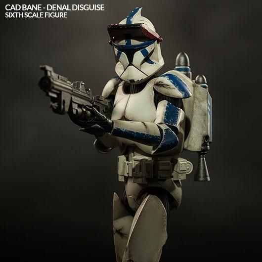 Cad Bane in Denals Rüstung - Star Wars - 1/6 Scale Figur