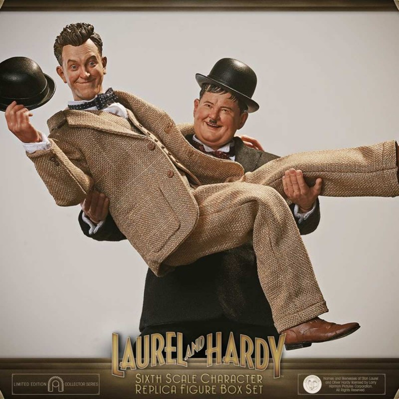 Laurel & Hardy Classic Suits Limited Edition - Laurel & Hardy - 1/6 Scale Figur