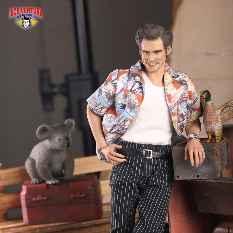 Ace Ventura - Ace Ventura Ein tierischer Detektiv - 1/6 Scale Actionfigur