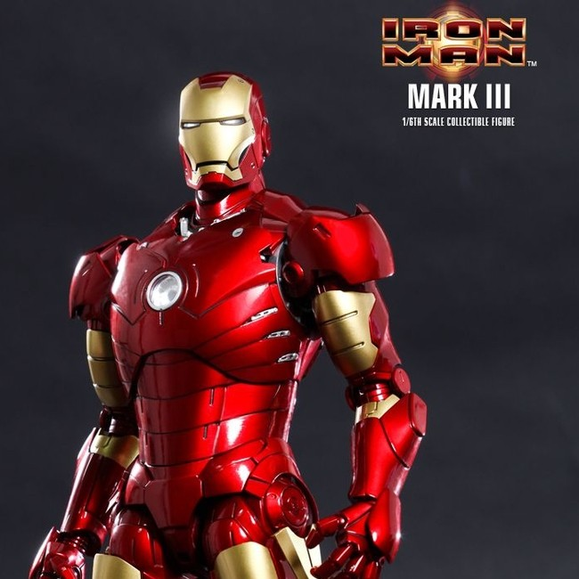 Mark III - Iron Man - Diecast 1/6 Scale Action Figur