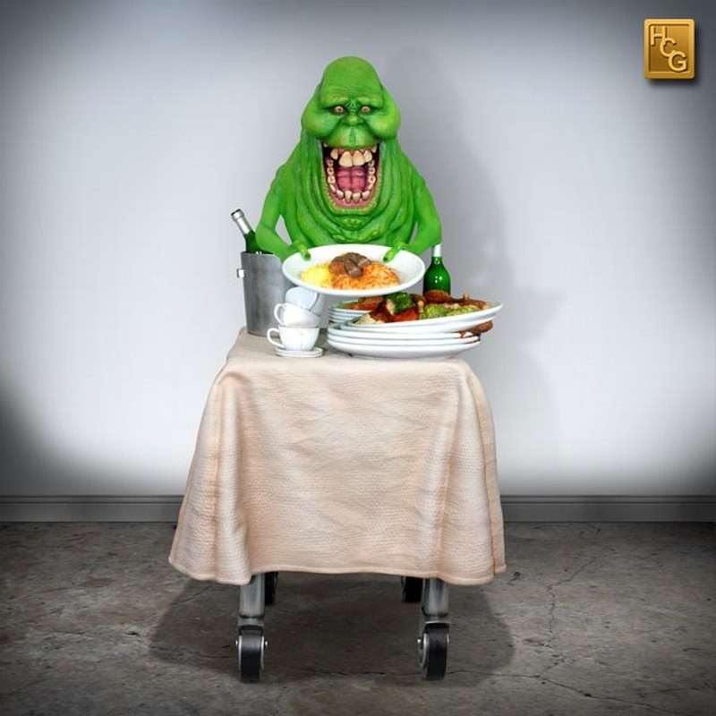 Slimer - Ghostbusters - 1/4 Scale Statue