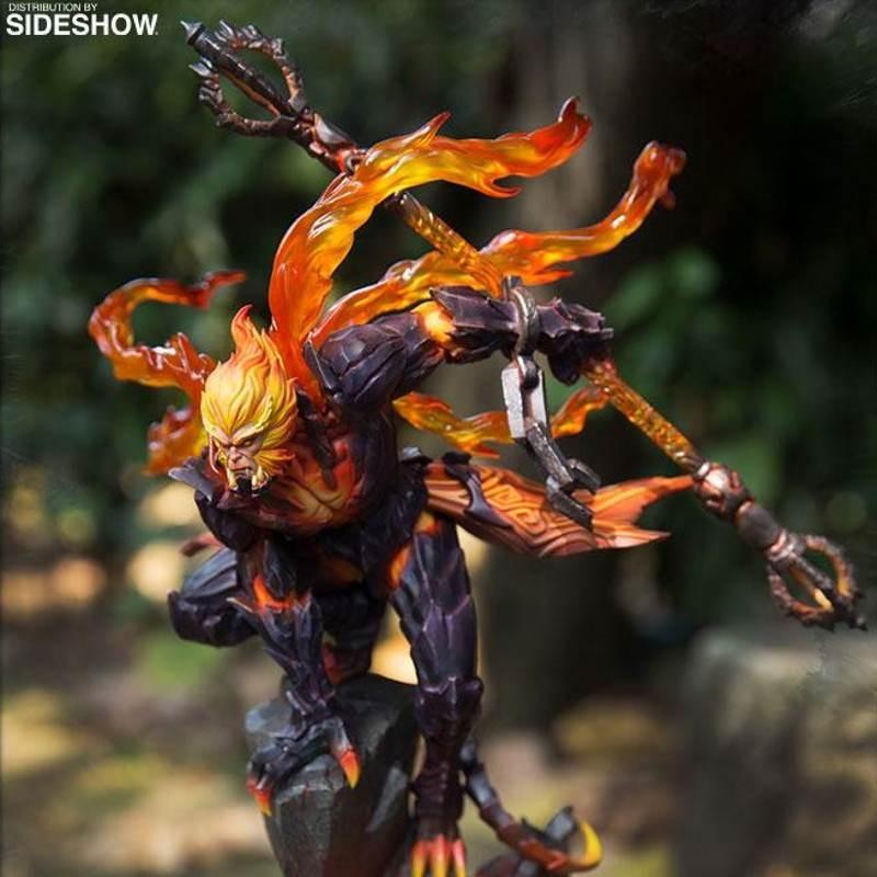 Hellfire Sun Wukong (Classic Version) - Honor of Kings - Resin/PVC Statue