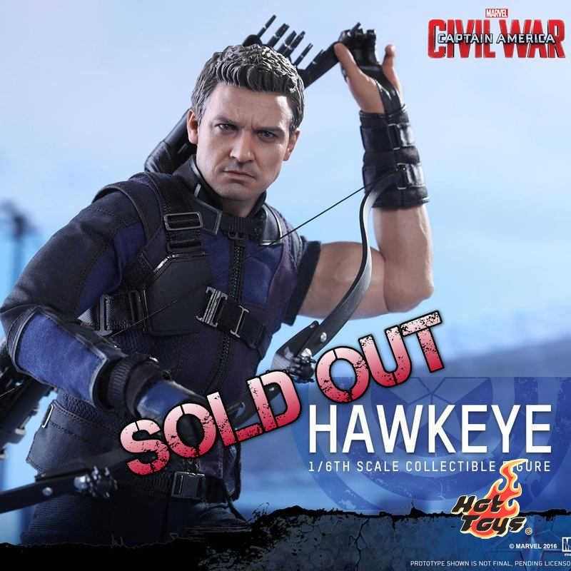 Hawkeye - Civil War - 1/6 Scale Action Figur
